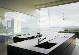 Boutique Suite Ireland Privacy Glass Panels