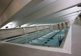 Kentish Town Sports Centre Viewing Gallery with Smartglass Partition