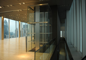 Office Smart Glass in Rothschild Bank, London